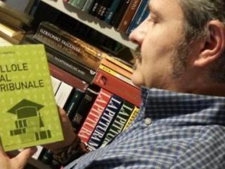 Umberto Maiorca con il libro