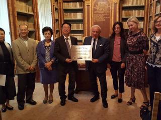 La delegazione della Sichuan University ricevuta dal Rettore Moriconi
