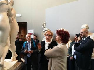 Il ministro Fedeli all'Accademia Pietro Vannucci