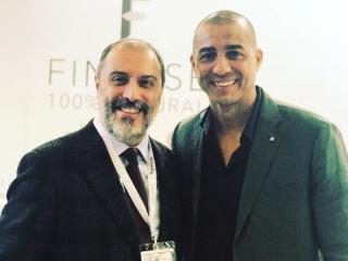 Valerio Zafferini e David Trezeguet