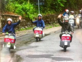 Foto dalla pagina Facebook Vespa Club Spoleto