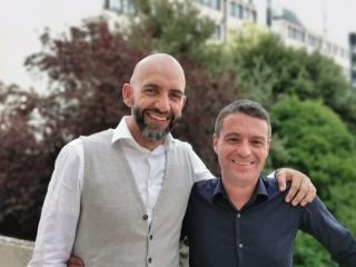 Vincenzo Bianconi e Andrea Fora (foto pagina Facebook Andrea Fora)
