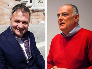 Stefano Zuccarini e Luciano Pizzoni